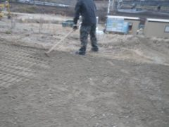 雨水.湧水処理埋設基礎(1次)工事29年3月