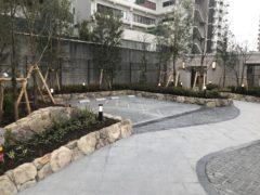 ルネグラン四天王寺夕陽丘外構工事  H28年1月